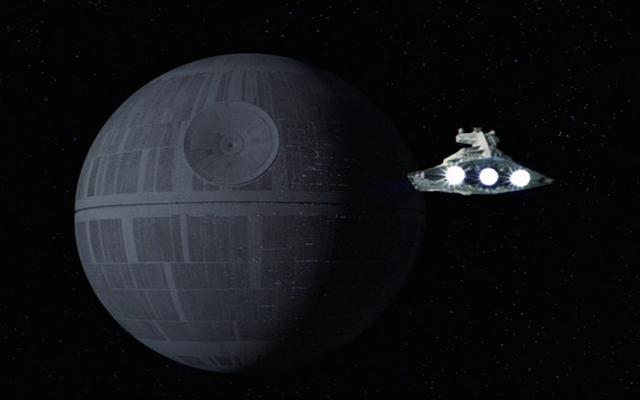 Estrella de la muerte Star Wars