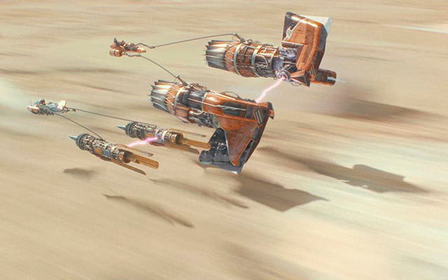 Anakyn Skywalker carreras Star Wars
